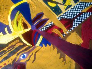 Malerische Auseinandersetzung mit dem Futurismus, Schwerpunktkurs Kunst 12