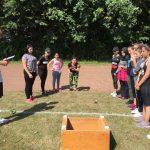 Spiele ohne Grenzen – Das Sportfest für die Sprachlernklassen von sechs Schulen