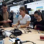 """Profilkurs 9 """"Technische Berufe in Industrie und Handwerk"""" auf der EMO"""