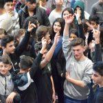 Theaterprojekt 5X-Sprachlerner: Bergfest mit Sprachlernklassen aus der Region