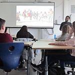 """""""Klimabotschafter"""" aus Grönland und Malawi besuchen die Leonore-Goldschmidt-Schule"""