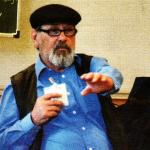 Asphalt-Verkäufer Günter zu Besuch in der Klasse 8d im Werte und Normen-Unterricht