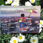 Grenzgänger*innen – Ein Straßentheaterkunstwerk der Schüler*innen aus sechs Sprachlernklassen an fünf Schulen in Hannover