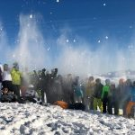 Drei Schulen erobern mit ihrer Skifahrt die Wildkogelarena