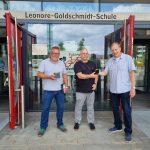 VolkswagenStiftung übergibt 100 Computer an Leonore-Goldschmidt-Schule in Hannover-Mühlenberg